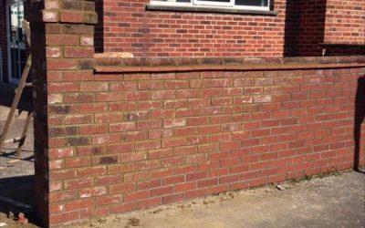 Rebuilt Wall